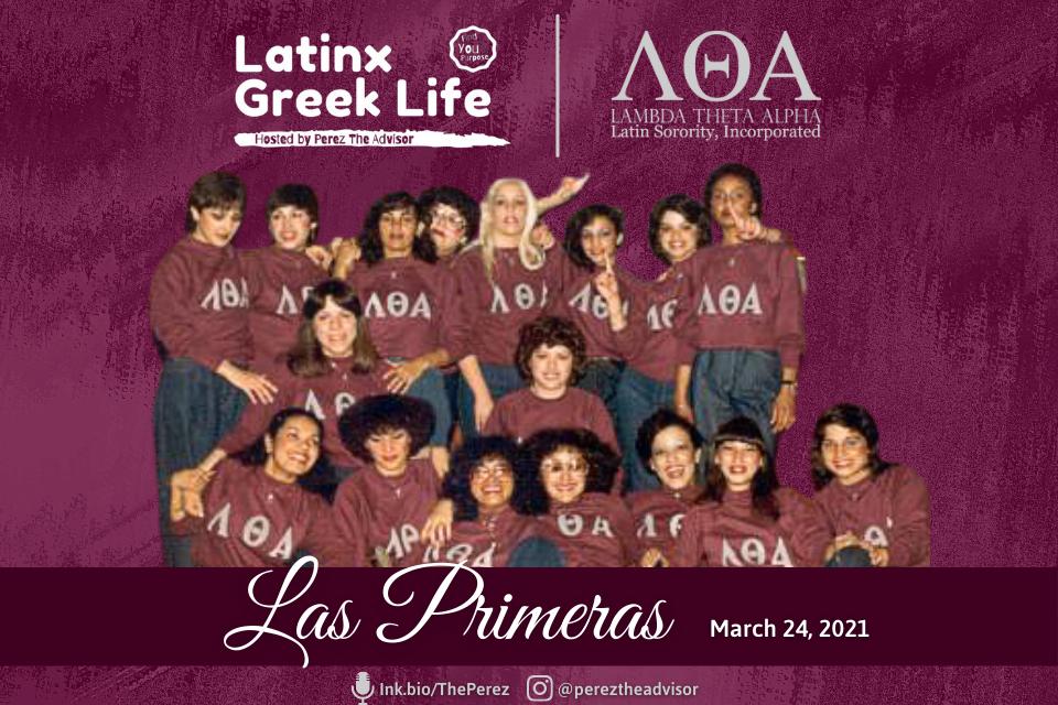 Latinx Greek Life Las Primeras